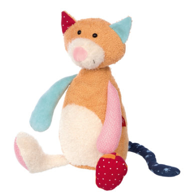 sigikid ® Cuddly toy cat - Patchwork Sweety