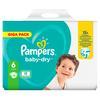 Pampers Baby-Dry Größe 6, 96 Windeln, bis zu 12Stunden Rundumschutz, 13-18kg