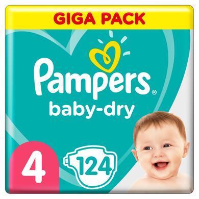 Image of Pampers Baby Dry Gr. 4 Maxi 124 luiers 9 tot 14 kg Giga Pack