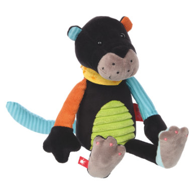sigikid ® Cuddly toy Panther Patchwork Sweety