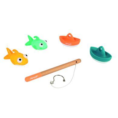 Janod ® Bath hračky rybářská sada 4 díly