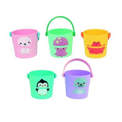 Janod ® Koupel hračka vodní tok kbelík 5 kusů