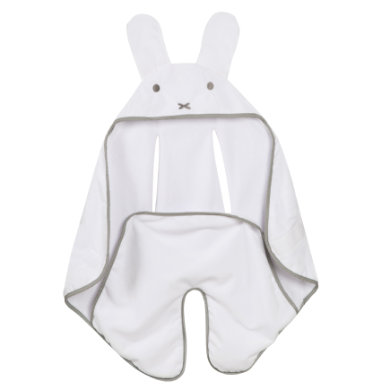 roba Couverture bébé enveloppante Miffy gris