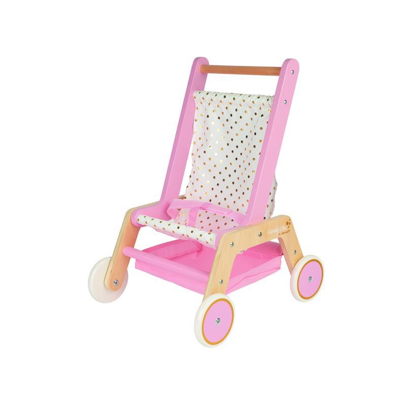 Artikel klicken und genauer betrachten! - Dieser hübsche Buggy mit glitzernden Reflexen begleitet dein Kind bei seinen ersten Erkundungen. Wie schön sind Spaziergänge mit dem Baby! Mit der raffinierten Klettbandbefestigung wird die Babypuppe gehalten und im Stofffach unter dem Sitz können das Fläschchen und andere Babysachen zum Spaziergang mitgenommen werden. Die Puppe ist im Lieferumfang nicht enthalten. Dieses Produkt fördert: Fantasie, Entdecken und Ausprobieren.   im Online Shop kaufen