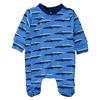 STACCATO Pyjamas 1 stk. myk blå denim Allover-trykk