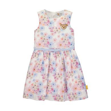 Minigirlroeckekleider - Steiff Kleid, bright white flower - Onlineshop Babymarkt