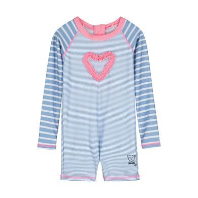 Babybademode - Steiff Strandoverall, forever blue rosa - Onlineshop Babymarkt