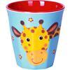 COPPENRATH Melamine cup - Giraffe Cheeky chrastítko gang