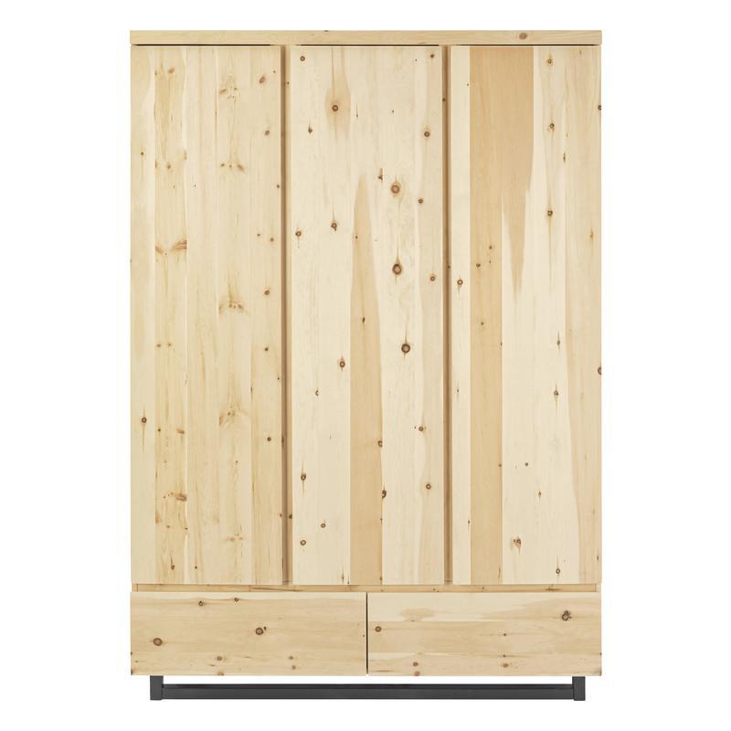 Artikel klicken und genauer betrachten! - Der Schardt Kleiderschrank besteht aus massivem Zirbenholz. | im Online Shop kaufen