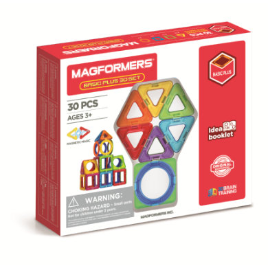 Sada MAGFORMERS ® Basic Plus 30