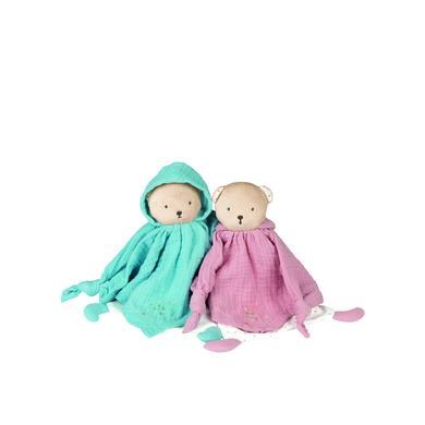 Kaloo® Petits Pas - Schmusetuch Bär rosa