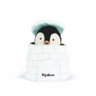 Kaloo ® Kachoo Hand Puppet Penguin Gablin in Igloo