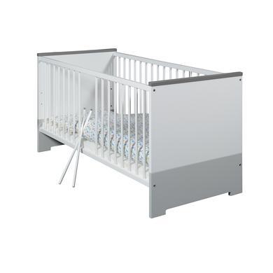 Kinderbetten - Schardt Kombi Kinderbett Candy Grey 70 x 140 cm  - Onlineshop Babymarkt