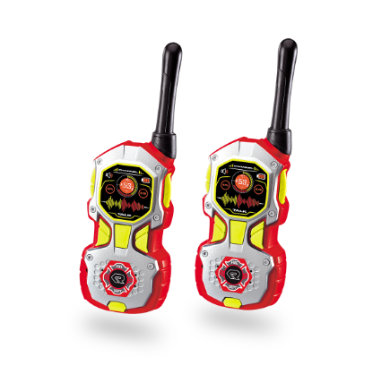 Image of DICKIE Toys Walkie Talkie Fire Service