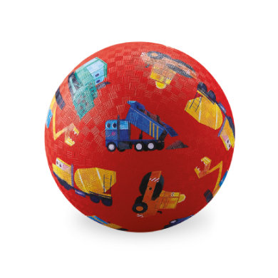 Crocodile Creek ® Play ball 18 cm - stavební vozidla