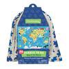 mudpuppy Puzzle To Go - Wereldkaart