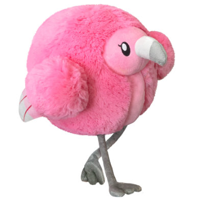 squishable Fluffy Flamingo