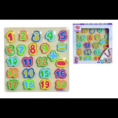 Eichhorn Planche chiffres enfant bois