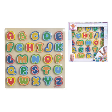 Eichhorn Planche alphabet enfant bois