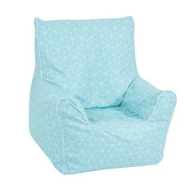 Sitzmöbel - knorr® toys Kindersitzsack Junior Geo cube neo mint  - Onlineshop Babymarkt