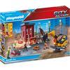 PLAYMOBIL® CITY ACTION Minibagger mit Bauteil