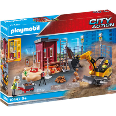 PLAYMOBIL CITY ACTION Mini rypadlo s komponentou