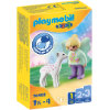 PLAYMOBIL ® 1 2 3 Enhörningsvagn med fawn