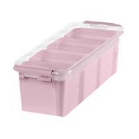 Nouveau Smartstore par ORTHEX 12 Boîte de rangement en plastique rose