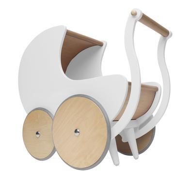 Kinderfeets® Puppenwagen, weiß