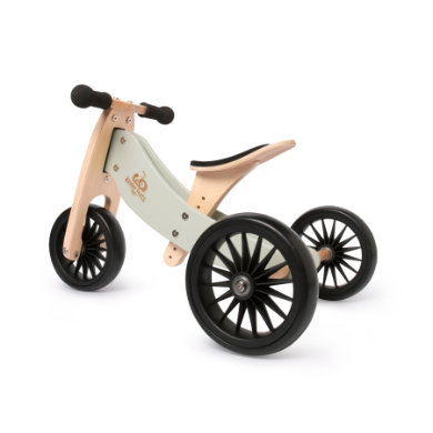 Image of Kinderfeets ® 2 in 1 Triciclo Tiny Tot Plus, turchese