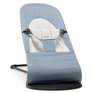 BABYBJÖRN lehátko Balance Soft Cotton Jersey blue/grey