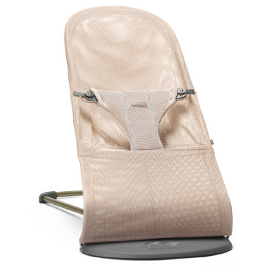 BABYBJÖRN Lehátko Bouncer BLISS Mesh - Pearly Pink
