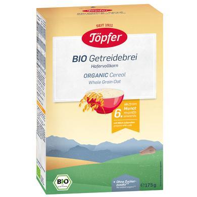 Töpfer Bio Getreidebrei Hafervollkorn 175 g ab dem 6. Monat