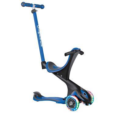 Roller - Globber Scooter EVO COMFORT LIGHTS 5in1, navy blau - Onlineshop