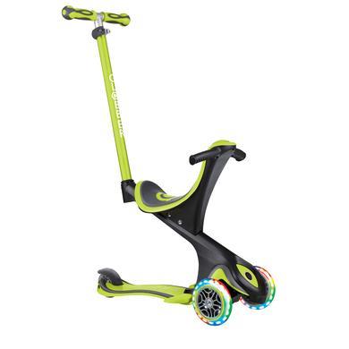 Roller - Globber Scooter Evo Comforts Lights 5 in 1, grün - Onlineshop