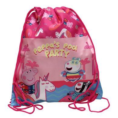Sporttaschen - Peppa Pig Gymbag mit Kordeln - Onlineshop Babymarkt