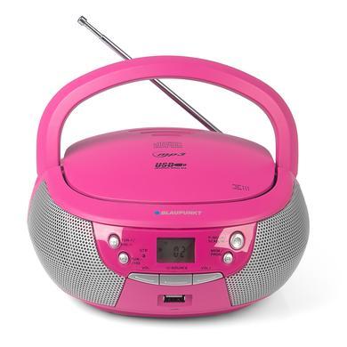 BLAUPUNKT Boombox mit CD und USB, pink