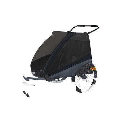 THULE dětský přívěs pro kolo Coaster XT Black