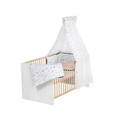 Kinderbetten - Schardt Komplettbett Classic Gold Origami Black 70 x 140 cm  - Onlineshop Babymarkt