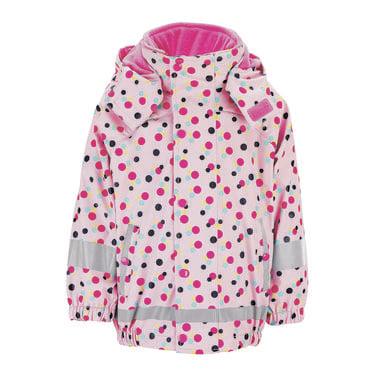 Babyregenwintermode - Sterntaler Regenjacke mit Innenjacke rosa - Onlineshop Babymarkt