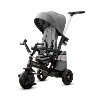 Dreirad - Kinderkraft Tricycle EASYTWIST platinum grey - Onlineshop