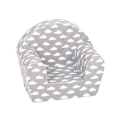Sitzmöbel - knorr® toys Kindersessel Grey white clouds  - Onlineshop Babymarkt