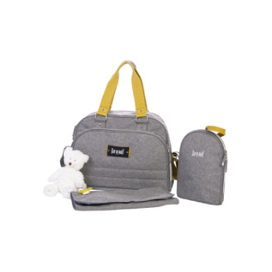 Image of BABY ON BOARD Wickeltasche Urban Classic Senf