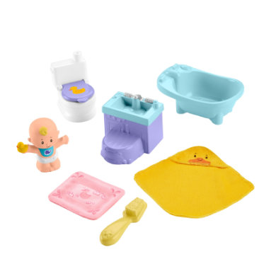 Fisher-Price ​​Little People Baby bath time