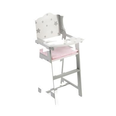 BAYER CHIC 2000 Chaise Stars haute de poupée grise