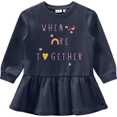 Minigirlroeckekleider - name it Tunikakleid NMFVOLTA Dark Sapphire - Onlineshop Babymarkt