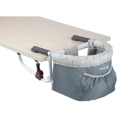 Safety 1st sedátko ke stolu Smart Lunch Warm Grey