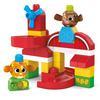 Mega Bloks Peekaboo Animal Farm (31 delen)