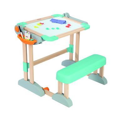 Kindertische - Smoby Zusammenklappbarer Holzschreibtisch 2 in 1  - Onlineshop Babymarkt