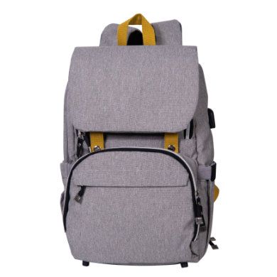 Image of BABY ON BOARD Wickelrucksack Freestyle Yellowstone Grau
